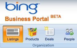 Bing Business Portal: Local Search
