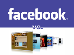 Facebook or Website?