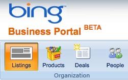 Bing Business Portal: Local Search