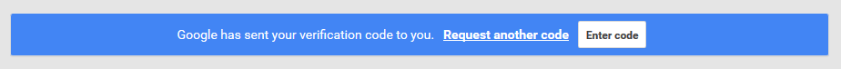 GoogleMyBusiness Verify Banner